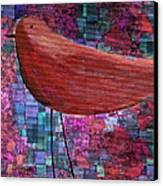 The Bird - 23a01a Canvas Print by Variance Collections