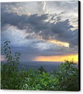 The Blue Ridge Mountains Canvas Print by Debra and Dave Vanderlaan
