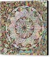 The Book Of John Canvas Print by Phable Omsri