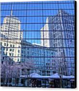 The Boston Skyline Canvas Print by JC Findley