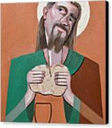 The Bread Of Life Canvas Print by Anthony Falbo