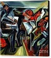 The Budapest String Quartet Canvas Print by Pg Reproductions