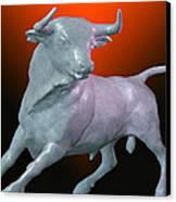 The Bull... Canvas Print by Tim Fillingim
