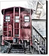 The Caboose Canvas Print by Bill Cannon
