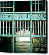 The Casino Canvas Print by Colleen Kammerer