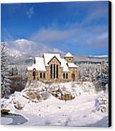 The Chapel On The Rock 3 Canvas Print by Eric Glaser