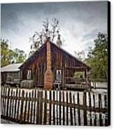 The Chesser Homestead Canvas Print by Southern Photo
