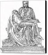 The Christ Canvas Print by Richard Johns