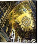 The Church Of Our Savior On Spilled Blood 2 - St. Petersburg - Russia Canvas Print by Madeline Ellis