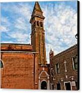 The Church Of Saint Martin Canvas Print by Peter Tellone