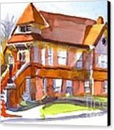 The Church On Shepherd Street 3 Canvas Print by Kip DeVore