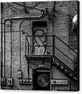 The City Is A Poem  Canvas Print by Bob Orsillo