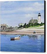 The Clammer Canvas Print by Karol Wyckoff