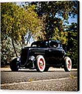 The Classic Hot Rod Canvas Print by motography aka Phil Clark