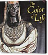 The Color Of Life Exhibition Canvas Print by Patricia Januszkiewicz