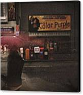 The Color Purple Canvas Print by Linda Unger