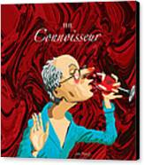 The Connoisseur Canvas Print by Johnny Trippick