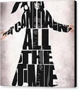 The Crow Canvas Print by Ayse Deniz