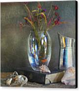 The Crystal Vase Canvas Print by Diana Angstadt