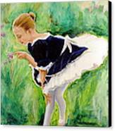 The Dancer Canvas Print by Sheila Diemert