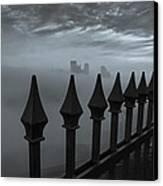 The Dark Night Canvas Print by Jennifer Grover