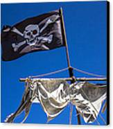 The Death Flag Canvas Print by Garry Gay