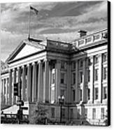 The Department Of Treasury Canvas Print by Olivier Le Queinec