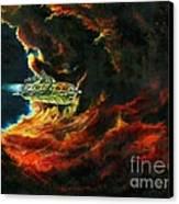 The Devil's Lair Canvas Print by Murphy Elliott