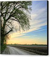 The Dirt Road Canvas Print by JC Findley