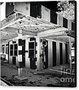 The Dog House Canvas Print by John Rizzuto