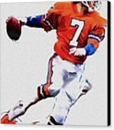 The Drive  John Elway Canvas Print by Iconic Images Art Gallery David Pucciarelli
