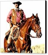 The Duke  John Wayne Canvas Print by Iconic Images Art Gallery David Pucciarelli