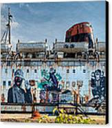 The Duke Of Graffiti Canvas Print by Adrian Evans