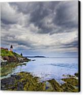 The Eastern Most Point In The U.s.a  Canvas Print by Mircea Costina Photography