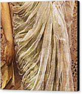 The End Of The Story Canvas Print by Albert Joseph Moore