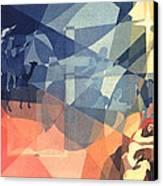 The Event 1965 Canvas Print by Glenn Bautista