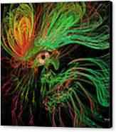 The Eye Of The Medusa Canvas Print by Angela A Stanton