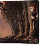 The Fabled Giant Women Of The Woods Canvas Print by Ethan Harris