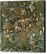 The Fairy Feller Master Stroke Canvas Print by Richard Dadd