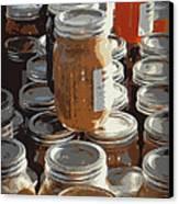 The Farmers Market Canvas Print by Karyn Robinson