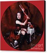 The Fearful Canvas Print by Shelley Irish