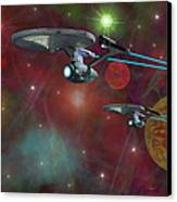 The Final Frontier Canvas Print by Michael Rucker