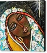 The First Noel Canvas Print by Maya Telford