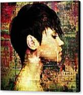 The Girl Who Loved Languages Canvas Print by Gun Legler