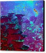 The Glimmering Deep Canvas Print by Wendy J St Christopher