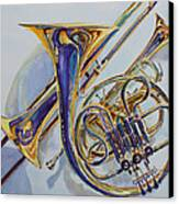 The Glow Of Brass Canvas Print by Jenny Armitage