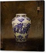The Guan Vase Canvas Print by Bruno Capolongo