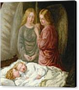 The Guardian Angels  Canvas Print by Joshua Hargrave Sams Mann