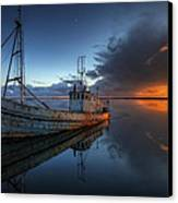 The Guiding Light Canvas Print by English Landscapes