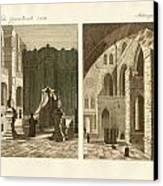 The Holy Sepulcher Of Jerusalem Canvas Print by Splendid Art Prints